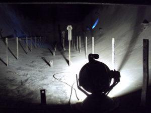 Flow Splitter, explosion proof light, refineries, Model 7100 SLXP LED, Swivel Mounted Explosion Proof Light, 7100