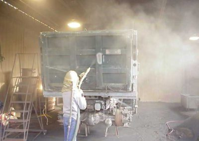 corrosion control, blast, paint, abrasive blasting, paint removal
