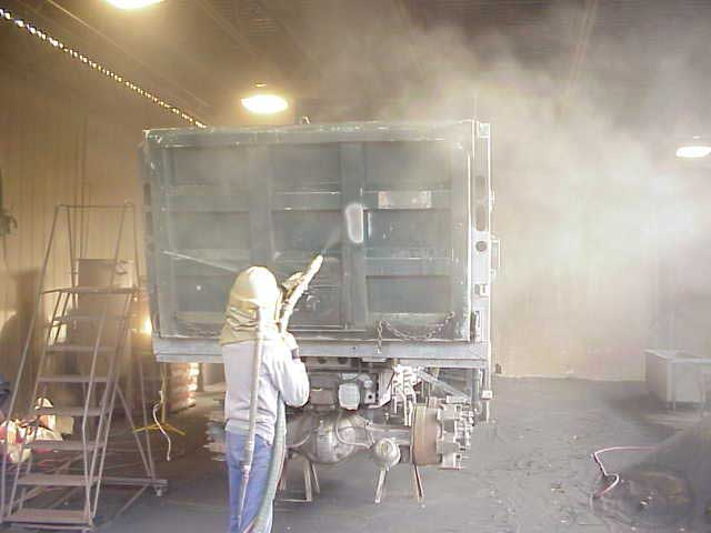 Blasting-Full Truck