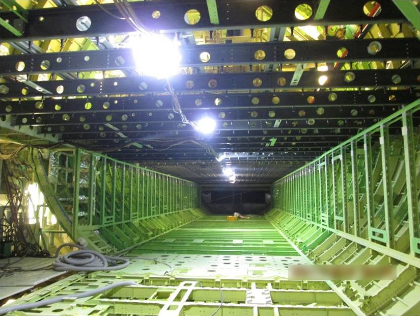 The BRICK® custom built in a string light format used for large aircraft manufacturing