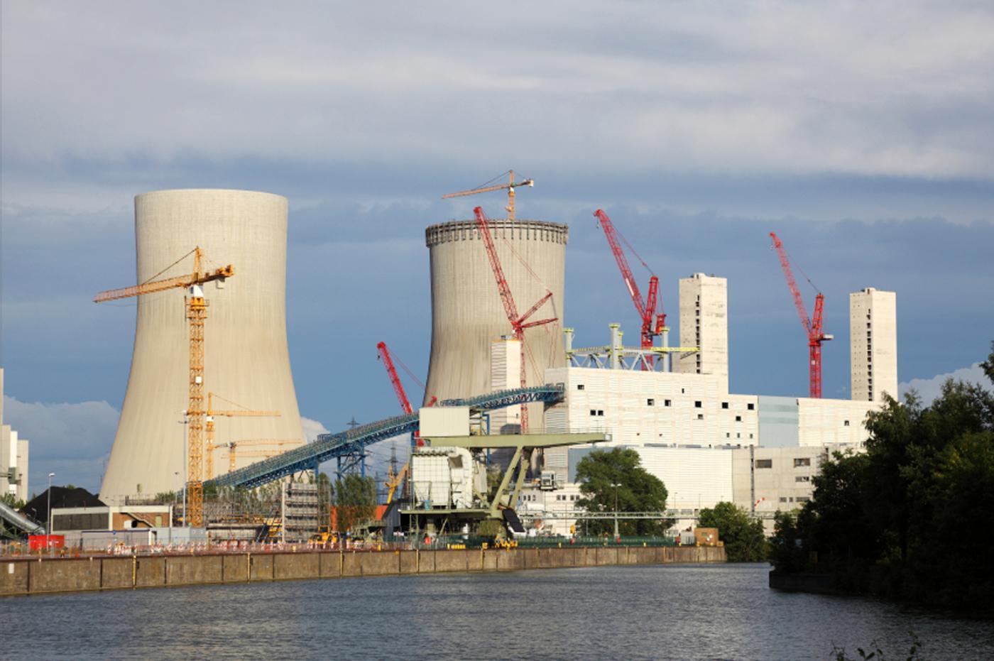 nuclear power construction