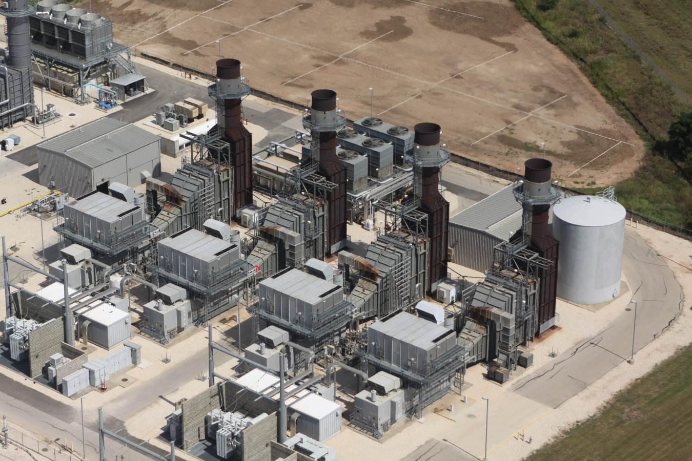 Sand Hill Power Plant Austin TX