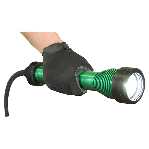 The STRIKER™, the striker, striker, 8100, portable, explosion proof, solid state, led, work light, blast light, drop light, class i, div 1, portable LED work lights