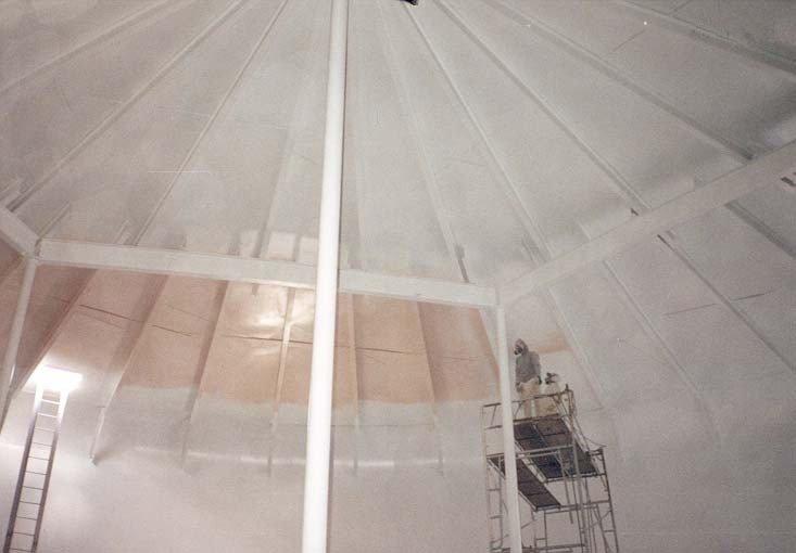 storage tank interiors, water tank, paining, coating, maintenance