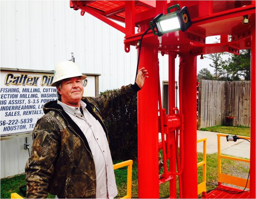 The BRICK® Magnetically Mounted on Wellhead Red Structure
