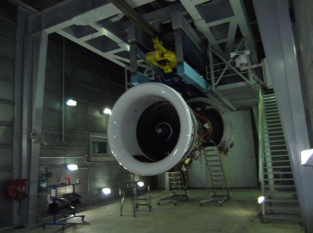 Test Engine Facility - inside