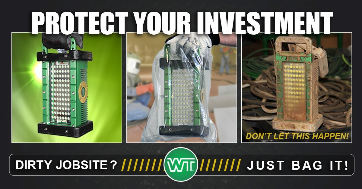 protect your investment, dirty job site, just bag it, overspray protection bags