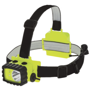 Model 7704, LED, Intrinsically Safe Multi-function Headlamp, intrinsically safe headlamp, Floodlights, Hazardous Location Lighting, headlamps, Portable LED Lights, Portable Lighting, Spotlights, Temporary Job Site Lighting, Battery Powered, hazardous location lighting, hard hat light, multi-function, dual-light
