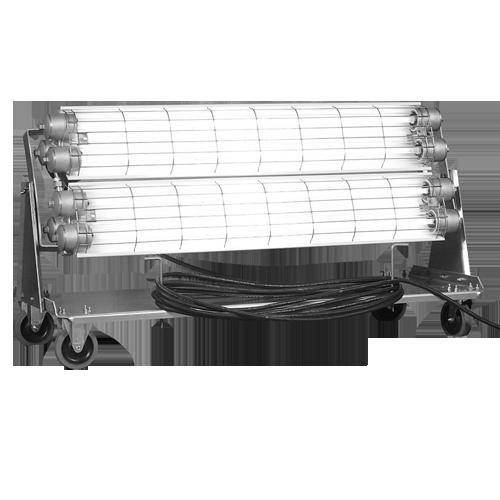 Model 7812 Series, Fluorescent Explosion Proof Task Cart Light, fluorescent, explosion proof, lighting