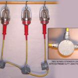 Incandescent Explosion Proof String Light, String Work Light, explosion proof string light