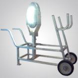 Model 6300 Series, Explosion Proof LED High Bay Area Light, high bay, area light, hand cart, mounting bracket