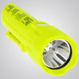 Model 7451 LED – Intrinsically Safe Black Dual-Light Flashlight, Intrinsically Safe Dual-Light Flashlight, flashlight, dual-light flashlight, nighstick, intrinsically safe flashlight, intrinsically safe lights, LED Work Light, portable LED work light, portable led light, battery-powered, cETLus, ATEX, IECEx, MSHA, yellow