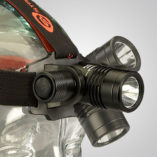 Model 7702, high lumen led headlamp, articulating light head, lighthead