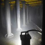 brick, 9610, explosion proof, led, portable, area light, tank light, waste water treatment plant