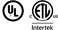 UL & ETL Intertek Logo