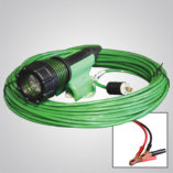 3475-80, 3475, gen 2, abrasive blast light, led, no power box, optional cord lengths, plugs, battery clamps