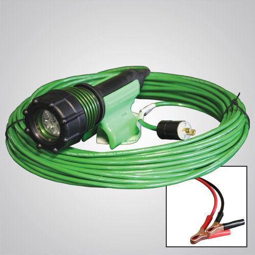 3475-80, 3475, gen 2, abrasive blast light, led, no power box, optional cord lengths, plugs, battery clamps