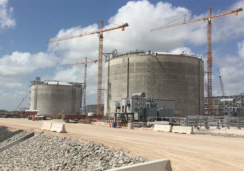 Storage tank interiors, LNG tank, LNG Storage tanks, construction, fabrication, rentals