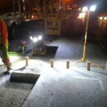 4100 LED, SITE LIGHT™, SITE LIGHT™ Series, Ordinary Location Lighting, Dry Dock, Construction, Night Work, Mid Mountain, rentals