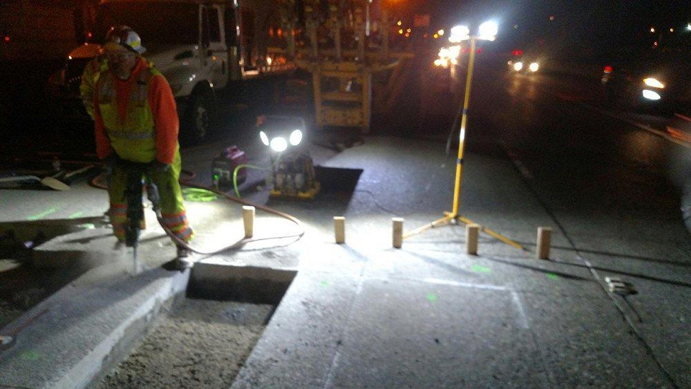 4100LED SITE LIGHT™ - Road Construction