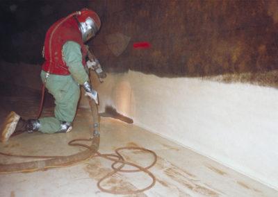 blast, paint, corrosion control, resurfacing, abrasive blast, abrasive blasting, blast light, blast hose, deadman control