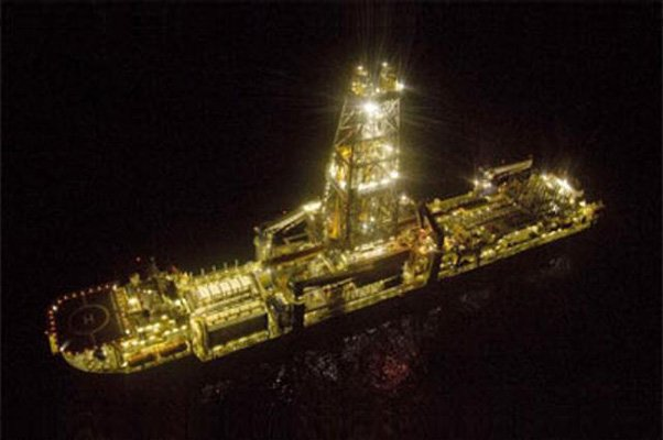 Discoverer Inspiration at Night with Lights on