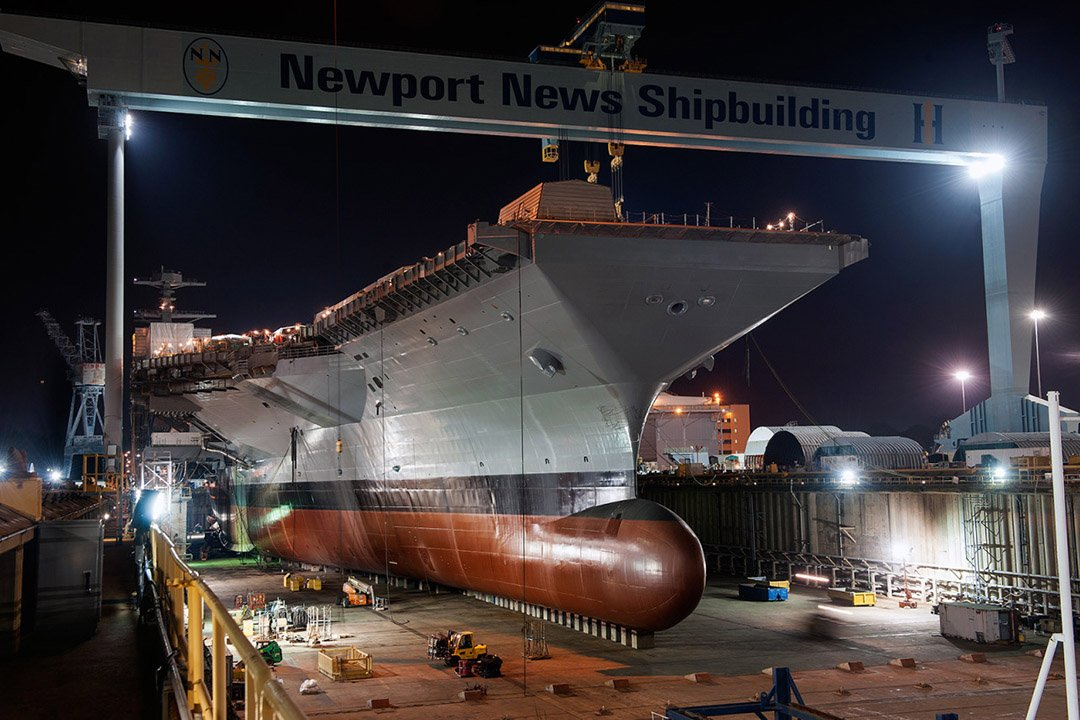 Newport News Ship Building uses WT lights