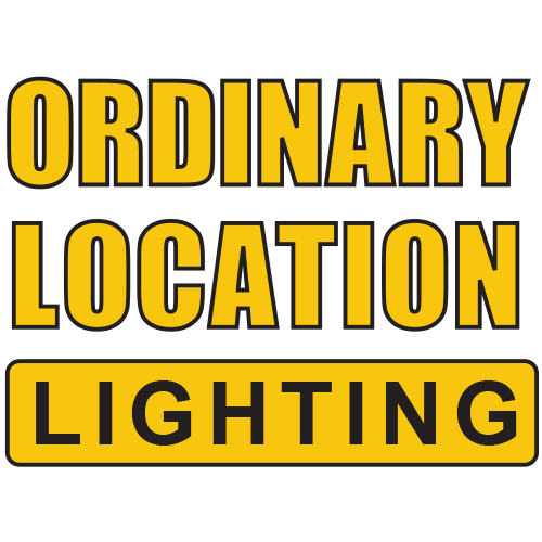ordinary location lighting, temporary job site lighting, temporary job site lighting for ordinary locations, temporary jobsites, work lights