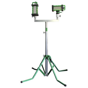 The BRICK®, the brick, 9610, quad pod, stand, mount, options, The BRICK™, 9610 brick, light, LED, explosion proof, Western Technology, magnetic, mechanical