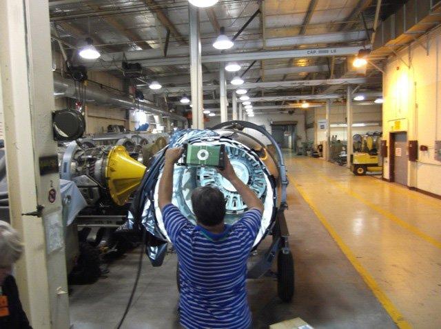 The BRICK™ - Jet Engine inspection.