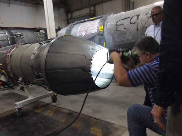 Demo of our lights at Air Force Base