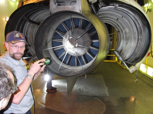 The STRIKER™ used in jet engine inspection
