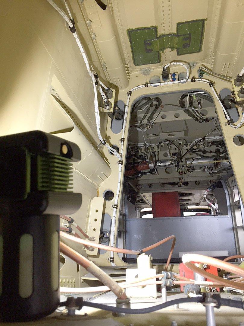 TheBODYLight Helicopter Maintenance