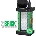 The BRICK®, 9610, LED, Portable Explosion Proof Area Light, explosion proof, LED, Hazardous Location Lighting, Portable LED Work Light, C1D1, C2D2, Class 1 Div 1, Class I Div 1, Class 1 Div 2, Class I Div 2, Class 2 Div 1, Class II Div 1, Class 2 Div 2, Class II Div 2, KICK-IT TOUGH™ LED Safety Lights, Work Light, Wet Location, portable, paint booth lighting, Type 6P, LED Work Lights, LED work light, Explosion Proof Light, explosion proof lights, Explosion Proof LED Light, Explosion Proof lighting, Explosion Proof LED Lighting, portable explosion proof light, Low Voltage, LVLE, mechanical mounting, magnetic mounting, blast & paint, inspection, portable luminary, portable luminaire, 36 VDC, 24 VDC, 12 VDC, temporary led lighting, Gen 2, explosion proof tank lighting