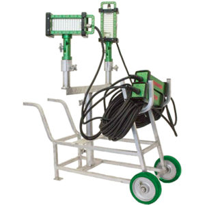 Hand Cart, stand, mount, options, The BRICK™, 9610 brick, light, LED, explosion proof, Western Technology, magnetic, mechanical