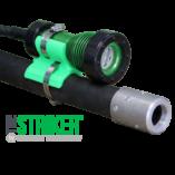 The STRIKER™, STRIKER, model, 8100, led, explosion proof, blast light, led blast light, explosion proof led blast light, stanchion, blast hose, Western Technology