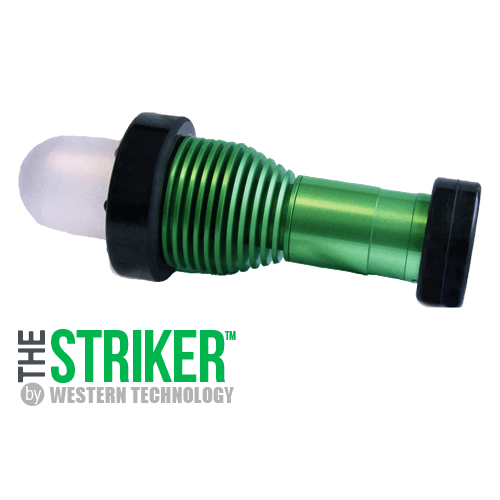 The STRIKER™, the striker, striker, model, 8100, short handle, dome diffuser, portable, explosion proof, led, work light, inspection light