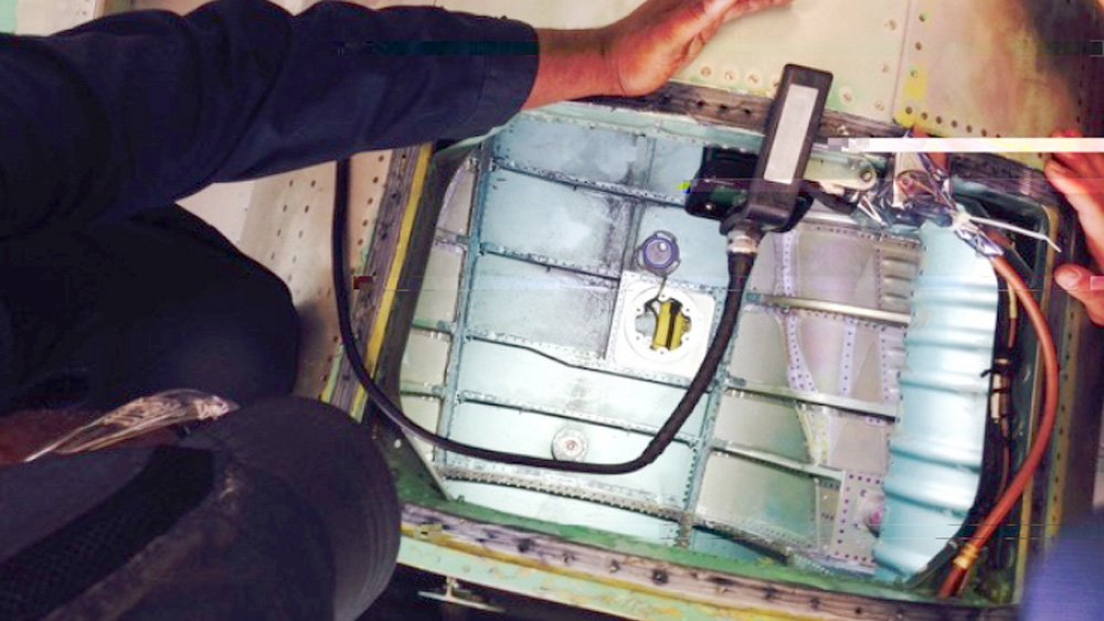 The BRICKette - Fighter Jet Fuel Cell Inspection