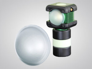BODYLight, dome diffuser, accessories, explosion proof, rechargeable, battery-powered, LED, light, explosion proof rechargeable battery-powered LED light