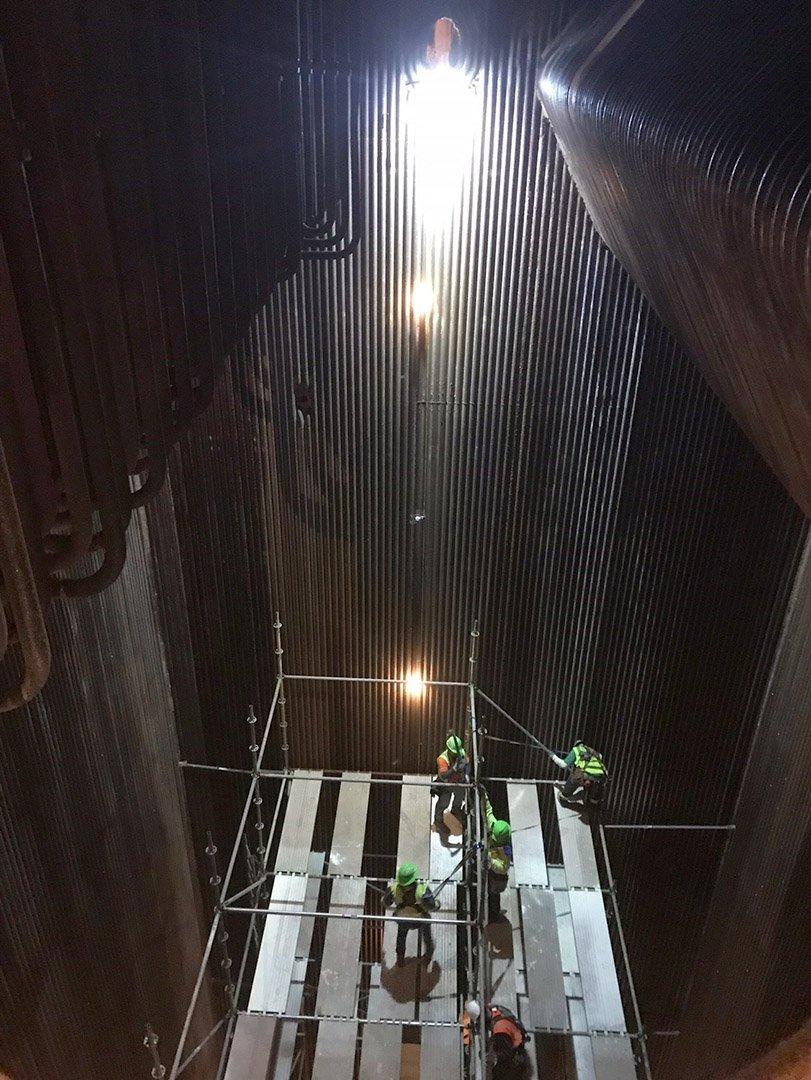Reliable Lighting For Industrial Boiler Repair Western