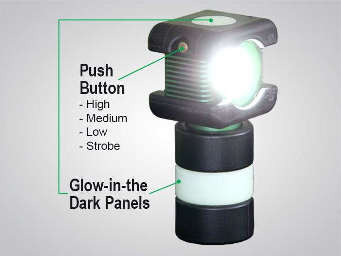 BODYLight™, body light, explosion proof rechargeable battery-powered LED light, rechargeable, battery-powered, LED, explosion proof, 8910