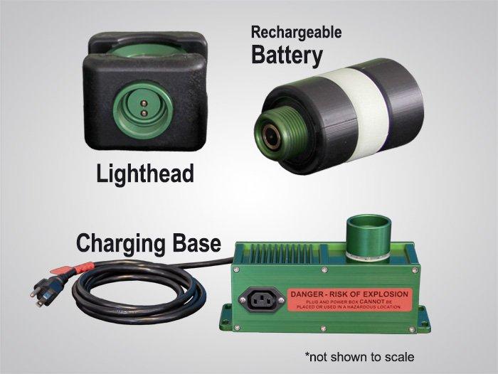 BODYLight™, body light, BODYLight, explosion proof rechargeable battery-powered LED light, rechargeable, battery-powered, LED, explosion proof, 8910