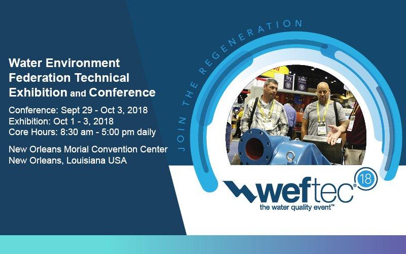 WEFTEC 2018
