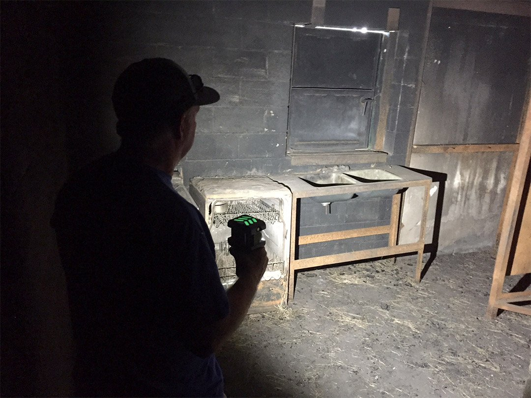 BODYLight Cottage Fire Inspection