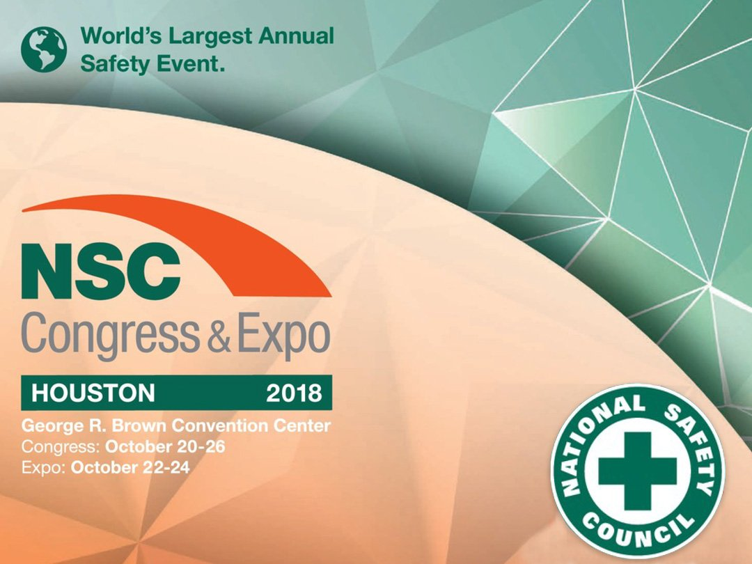 nsc 2018, National Safety Council, Congress & Expo, 2018, Houston, TX, safety