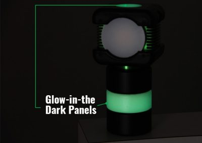Glow-in-the-Dark Paneling