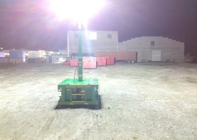 brick skid, ZERO-Emissions, Portable, Explosion Proof, Light Tower, Spark Free, 17 feet, 400 ft diameter
