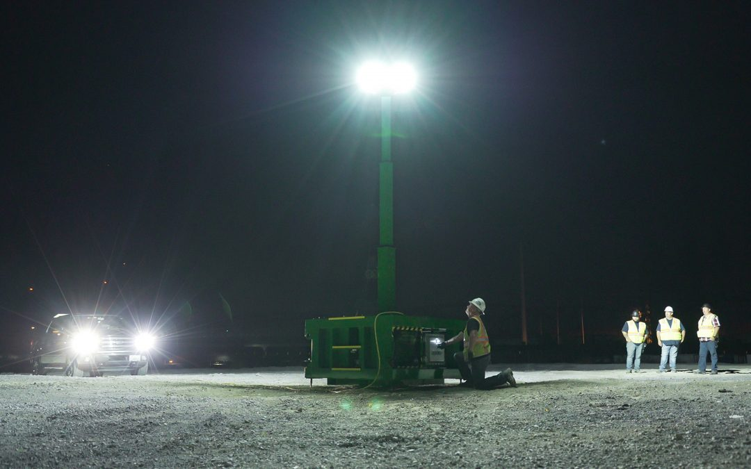 ZERO-Emissions Explosion Proof Light Tower