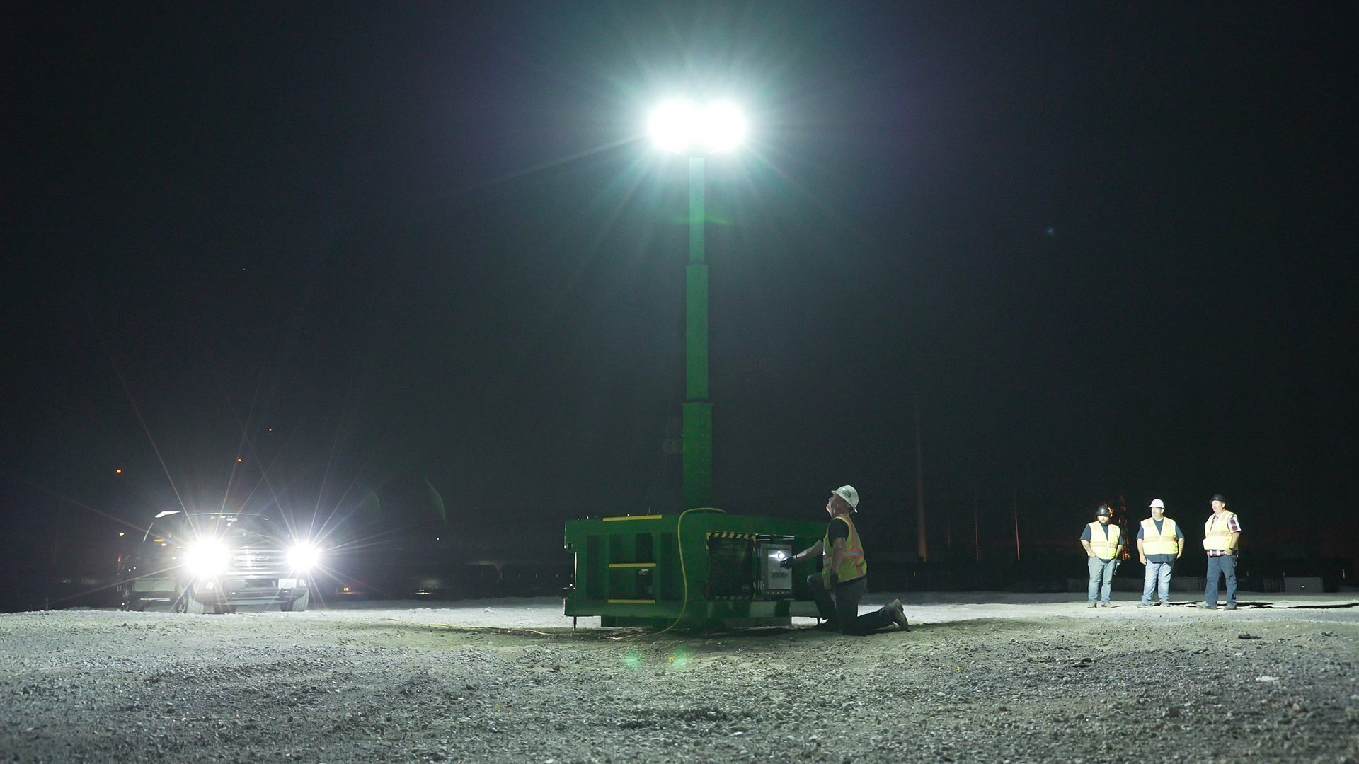BRICKSkid, brick skid, zero-emissions, spark free construction, portable, explosion proof, led, light tower
