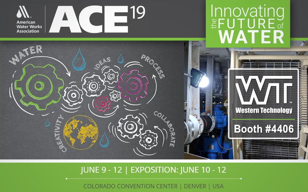 AWWA ACE19, AWWA ACE 2019, ACE 19, web footer ad, exhibitor, booth #4406, June 10-12, colorado convention center, denver, co, usa